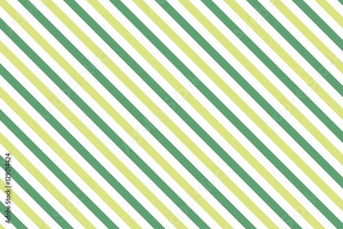 Green stripes on white background Striped diagonal pattern Green