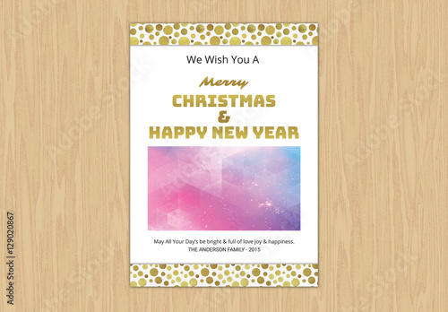 Christmas Card Layout 2 Buy this stock template and explore similar