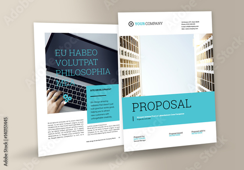 Business Proposal Layout Buy this stock template and explore