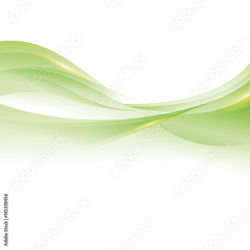 Green waves background icon vector illustration graphic - Buy this