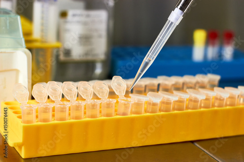 Medical biotechnology research - Buy this stock photo and explore