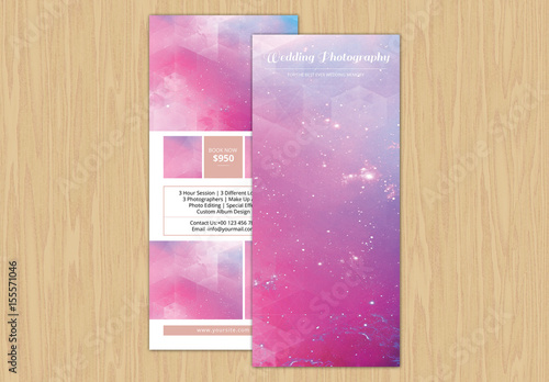 Grid Style Photography Pricing Card Layout 1 Buy this stock