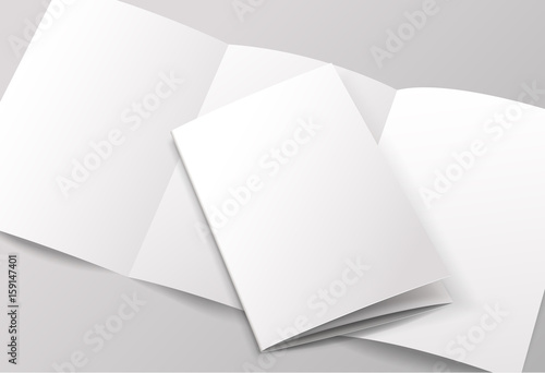 Blank brochure template  Vector Illustration - Buy this stock