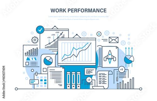 Work performance, quality control, productive, teamwork, performance