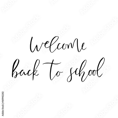 Welcome Back to School template - Buy this stock vector and explore - welcome back template