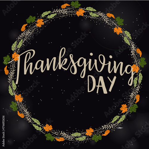 Thanksgiving background Design for banners, posters, greeting cards