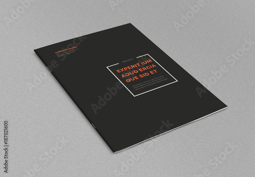 Minimal Brochure Layout Buy this stock template and explore similar