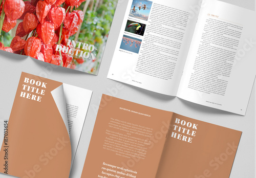 Simple Magazine Layout Buy this stock template and explore similar