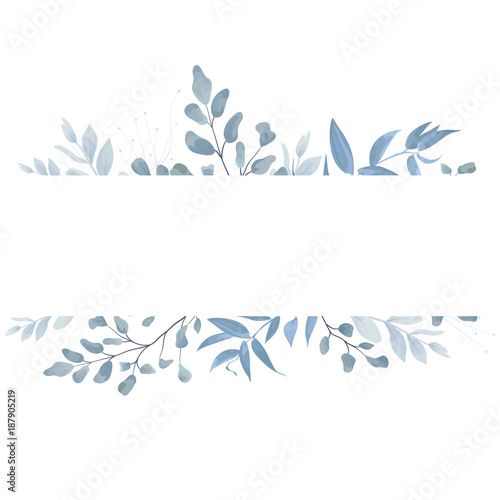Fall Leaves Wallpaper Border Vector Floral Card Postcard Invite Design With Light