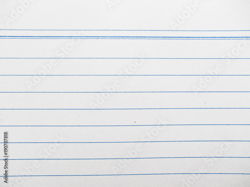 macro of lined white blank paper - Buy this stock photo and explore