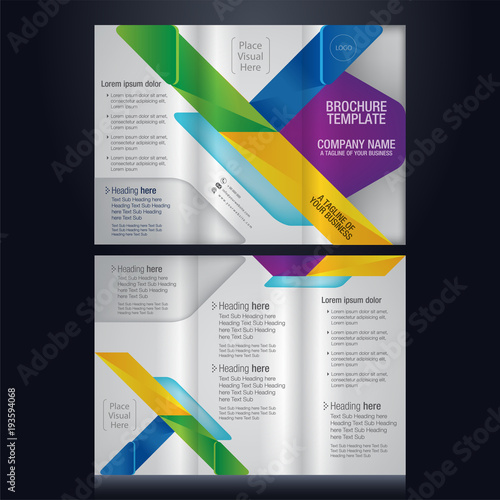 Pamphlet Layout Template business pamphlet template business - pamphlet layout template