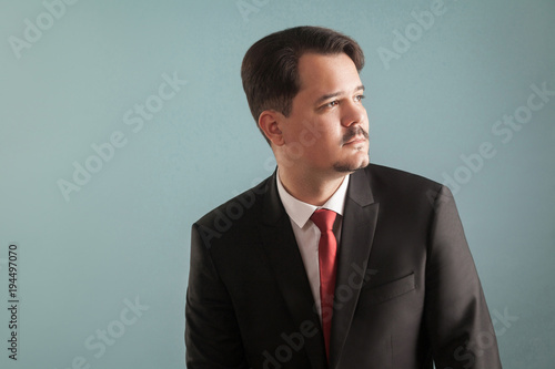 Profile portrait of professional business man - Buy this stock photo