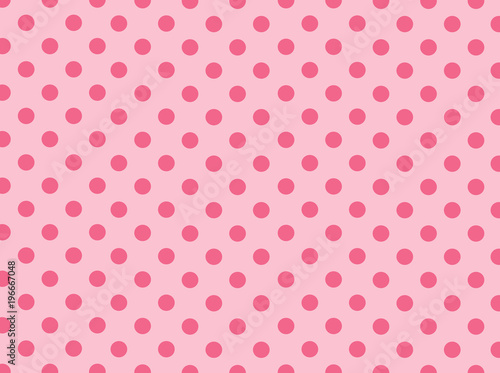 Pink Polka Dot Background - Buy this stock illustration and explore