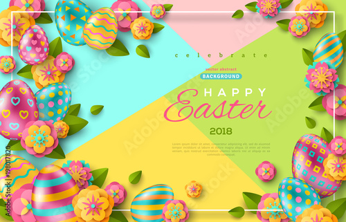 Easter flyer template - Buy this stock vector and explore similar