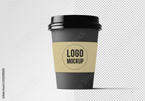 Coffee Cup Mockup Buy this stock template and explore similar