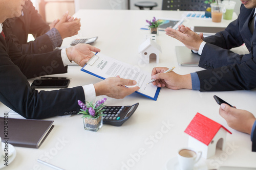 Business group Investment Agreement Condominiums, apartments and
