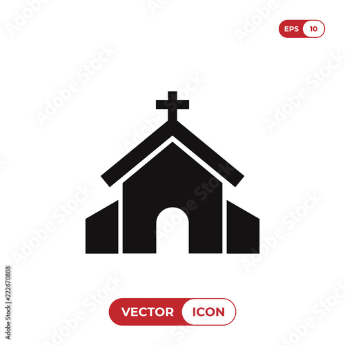 Church vector icon - Buy this stock vector and explore similar