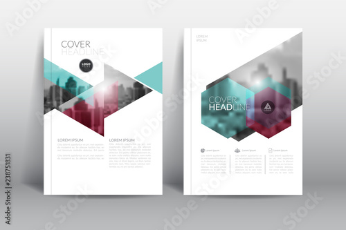 Cover Design template, annual report cover, flyer, presentation