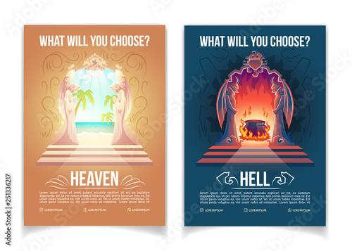Religious movement, Christianity church or teaching cartoon vector