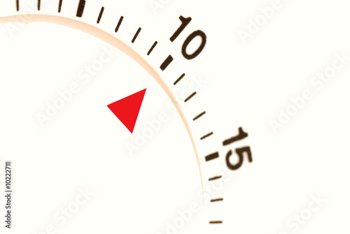 ten minutes left to go on a timer - Buy this stock photo and explore