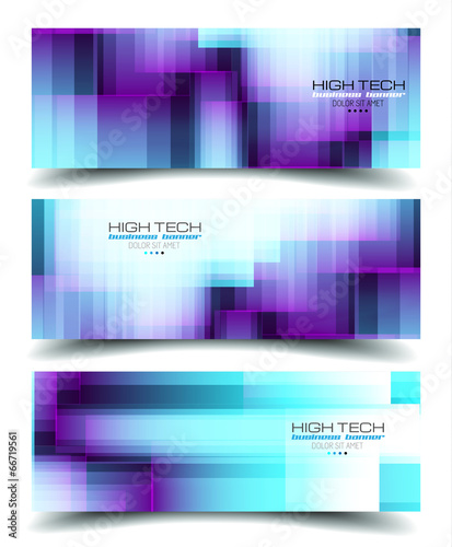 Banner Backgrounds for business card or corporate covers - Buy this