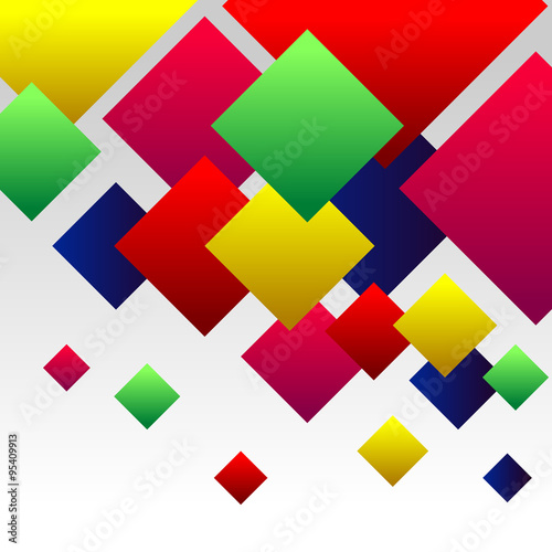 Abstract Background with Colorful Gradient Red, Blue, Green, Pink an