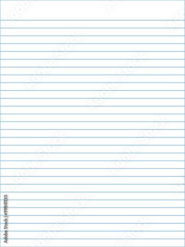 Notebook paper template vector - Buy this stock vector and explore - Notebook Paper Template