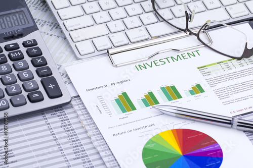 Investment Analysis - Buy this stock photo and explore similar - investment analysis
