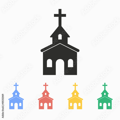 Church - vector icon - Buy this stock vector and explore similar