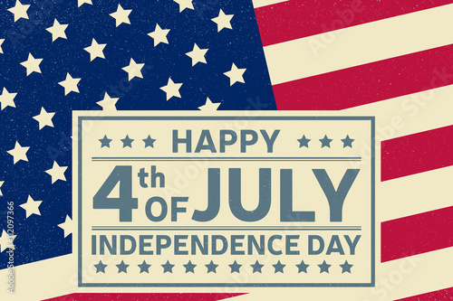Happy Independence Day background template Happy 4th of july poster - 4th of july template