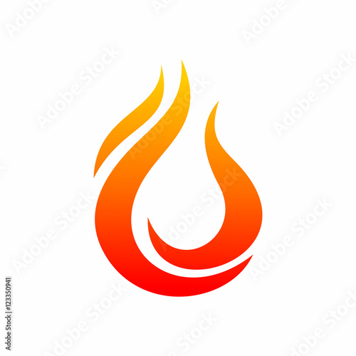 Fire Flame Logo Icon - Buy this stock vector and explore similar - flame logo