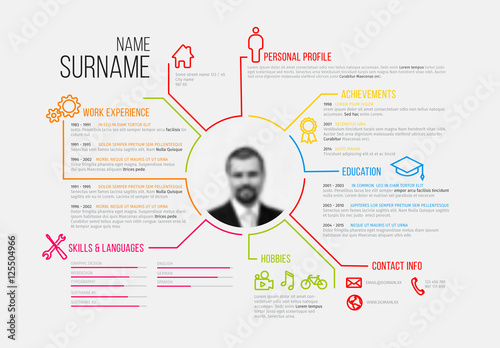 Resume Layout - Landscape 2 Buy this stock template and explore - resume lay out