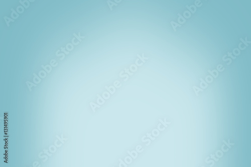 Simple blue vintage gradient abstract background for product or text