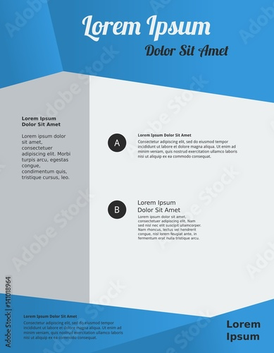 Editable Abstract Vector for Poster Template - Buy this stock vector - editable poster templates