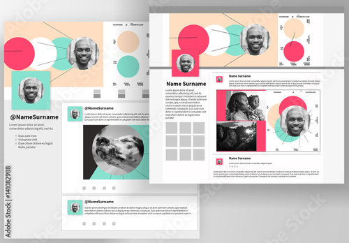 Social Media Kit Buy this stock template and explore similar