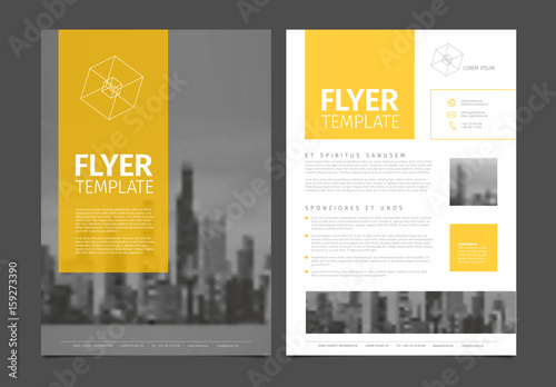 book flyer template free