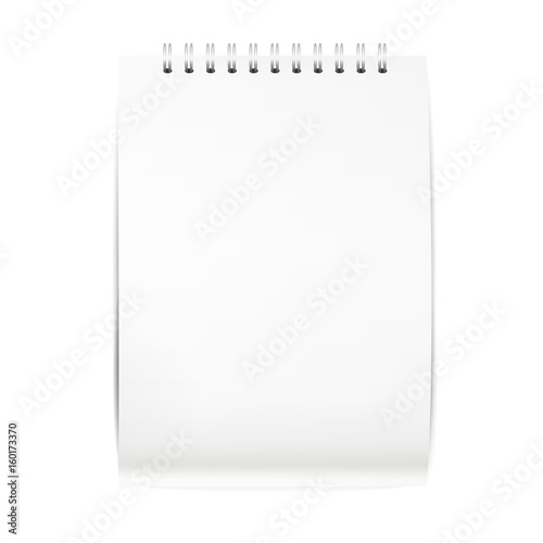 Open the paper journal, Paper Journal, Blank magazin on a white - journal paper template