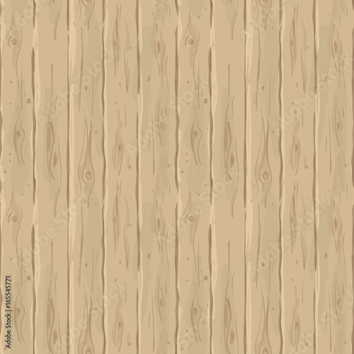 Vector seamless beige fence Retro texture of the boards Vintage