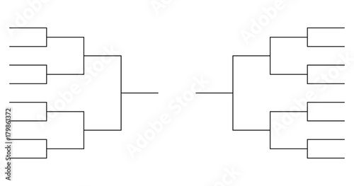 team Tournament bracket templates - Buy this stock vector and
