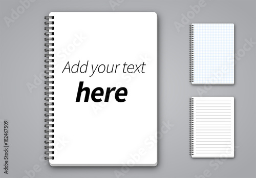 3 Notepad Page Layouts Buy this stock template and explore similar - notepad paper template