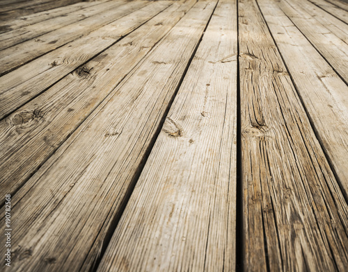 Close up of composite decking Wood planks Kiln dried wooden lumber