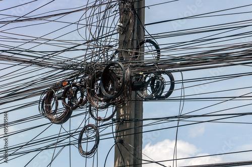 Messy Telephone Wiring Wiring Schematic Diagram