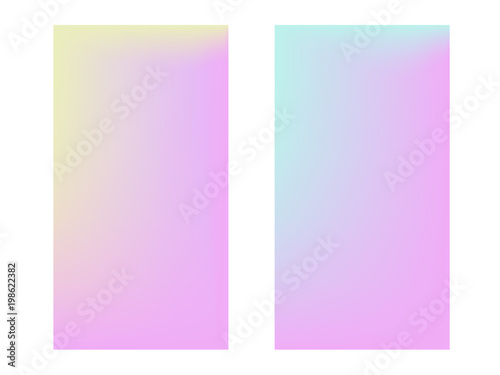 Soft color backgroundTrendy gradient Collection of gradient