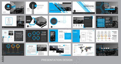 presentation template for promotion, advertising, flyer, brochure