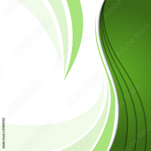 Abstract Ecology background Corporate business template background
