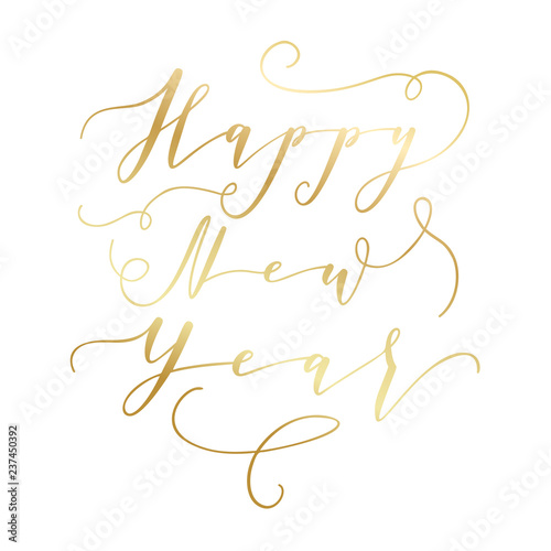 Christmas and Happy New Year wishes for label emblem, logo, text