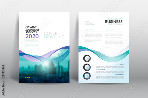 Cover Design template, annual report cover, flyer, presentation