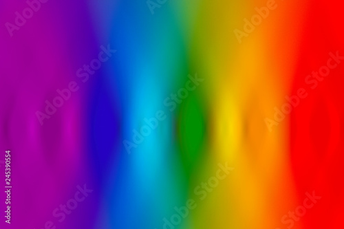 Beautiful abstract rainbow background with holographic vaporwave