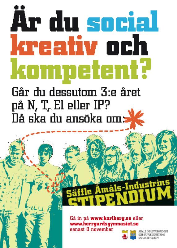 skiss affisch o logo