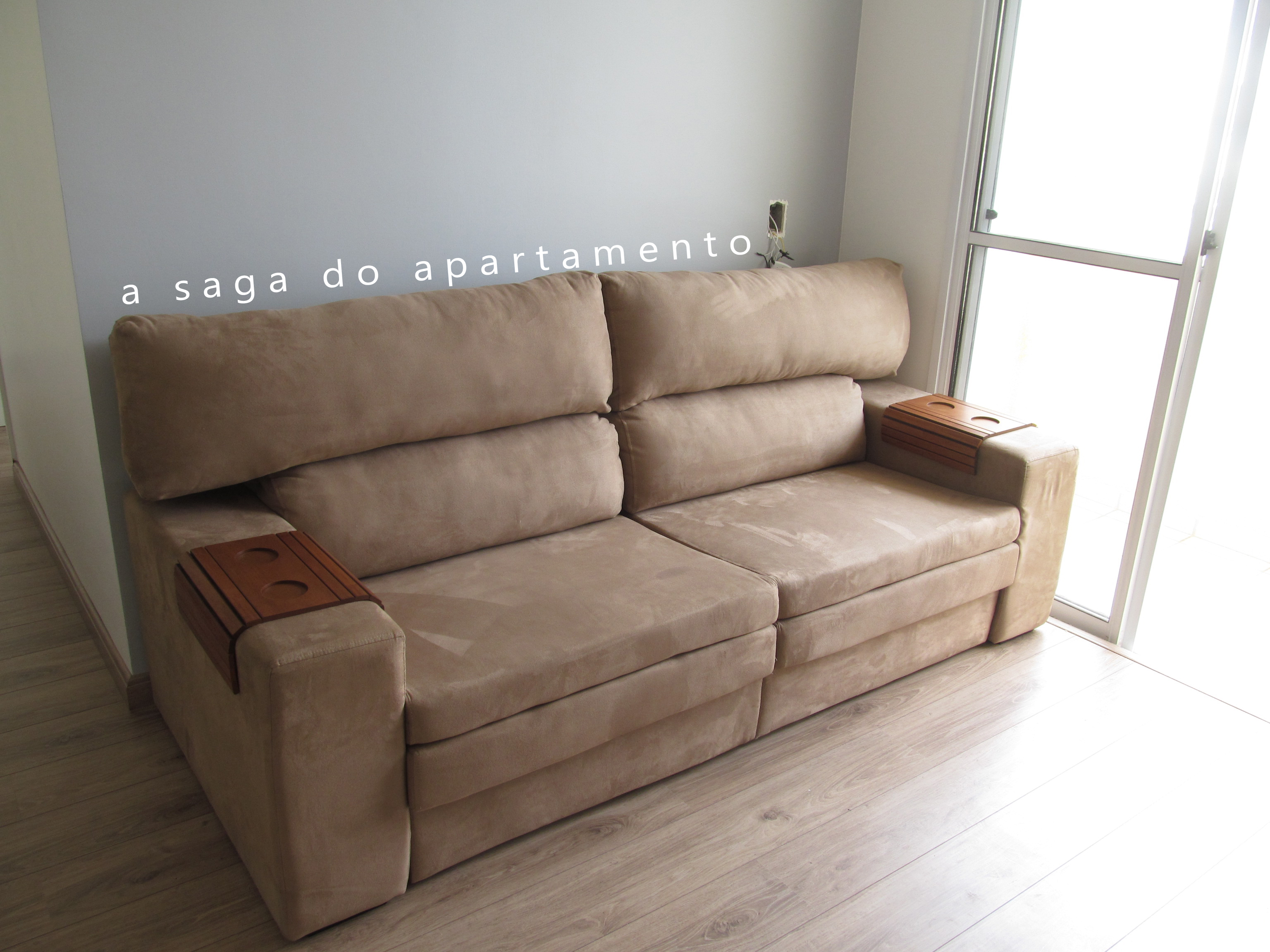 Sofa Retratil Sala Pequena Sofá Retrátil Com Chaise A Saga Do Apartamento